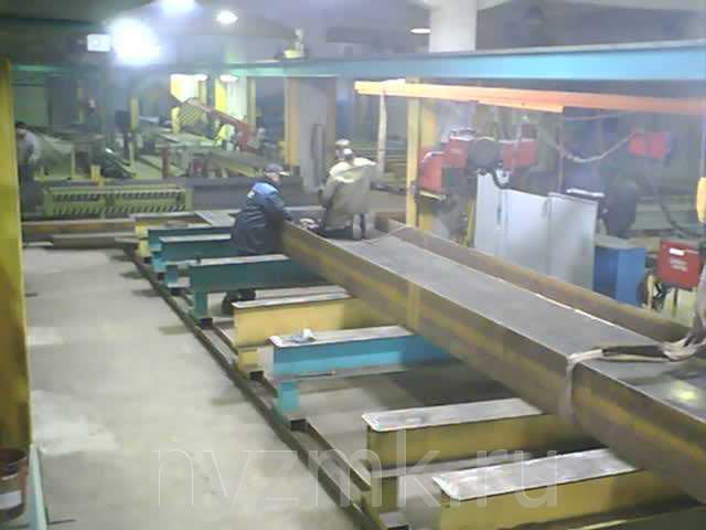 Изготовление металлических ферм и колонн