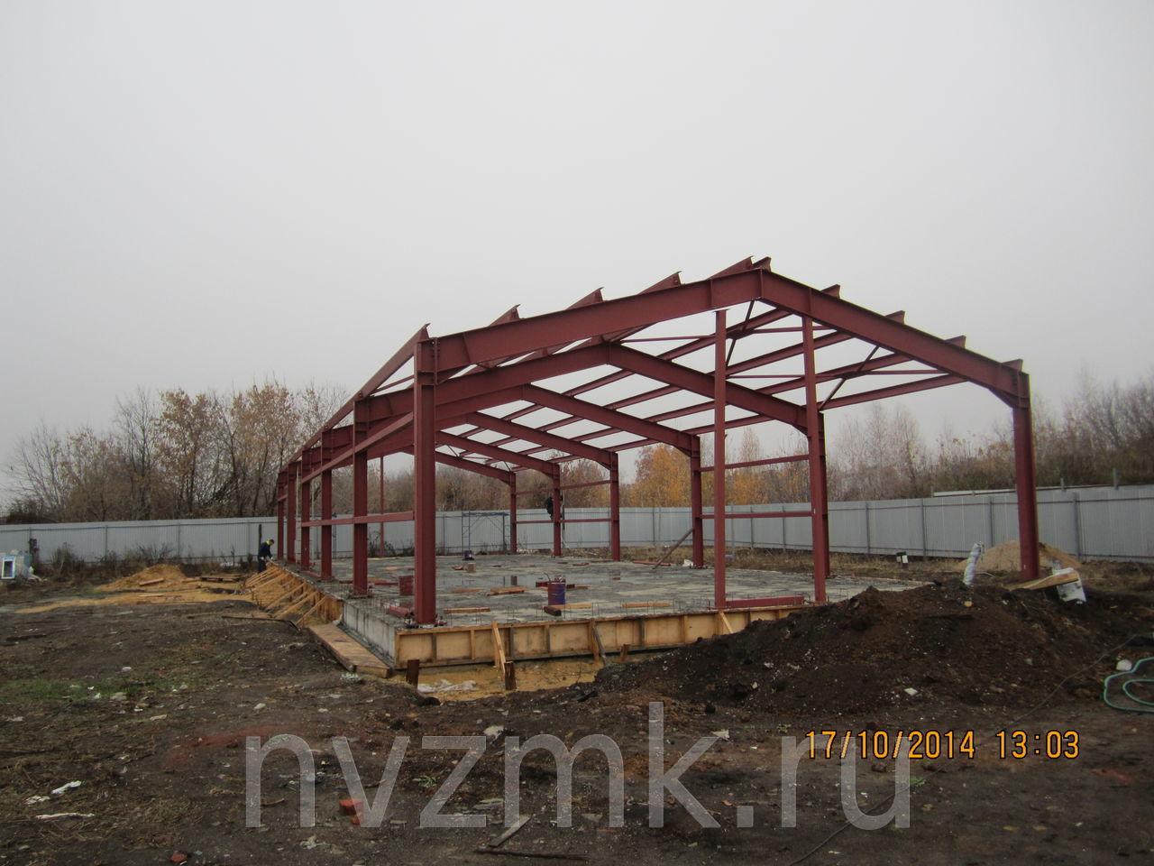 Изготовление колонн стальной металлоконструкции