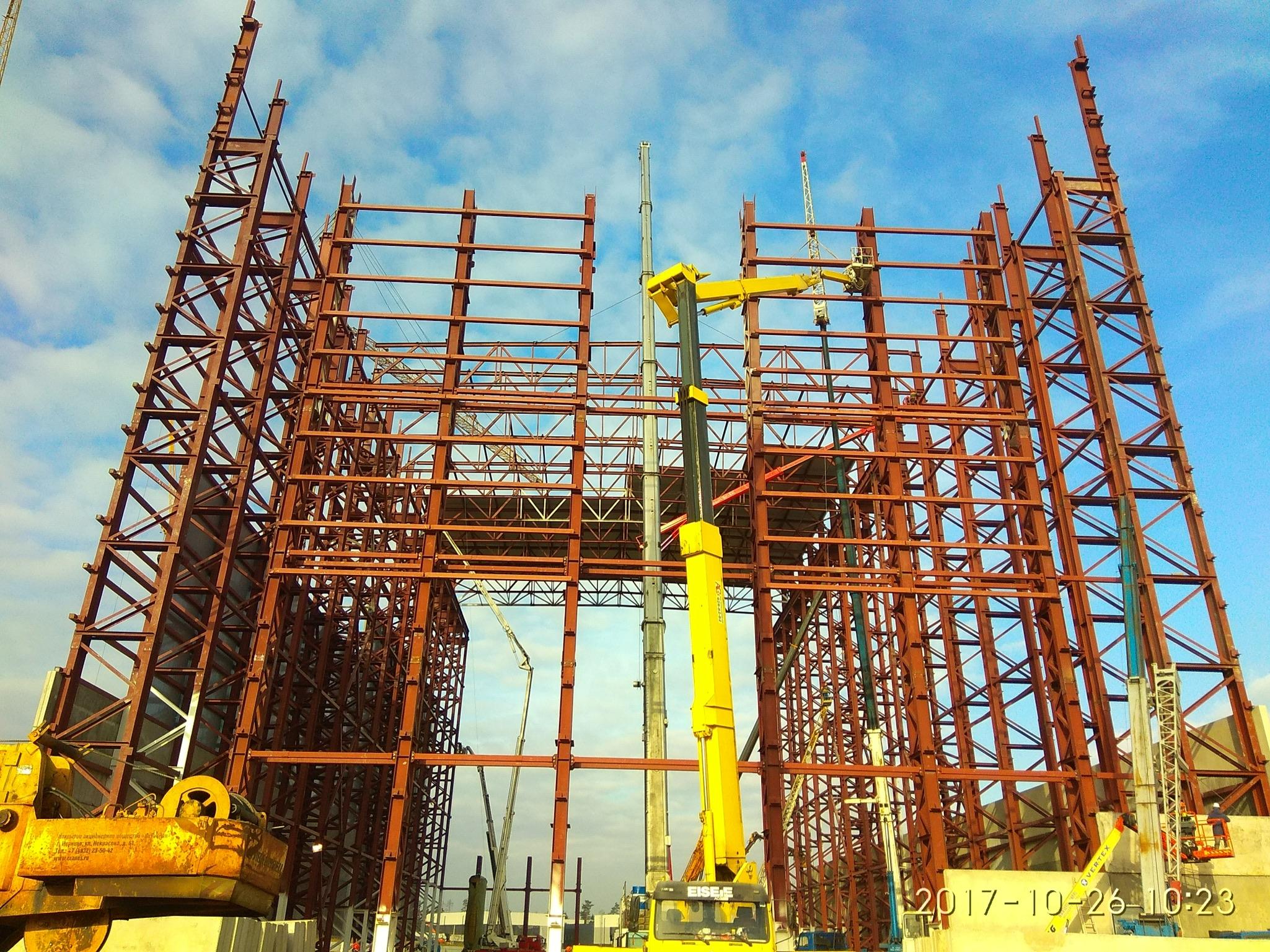 Классификация металлоконструкций и сферы их применения