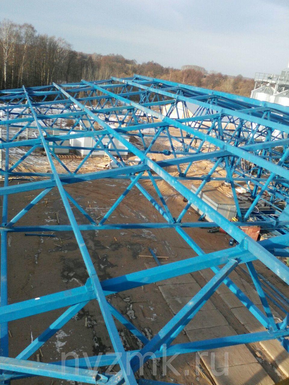 ПСК Новинский завод металлоконструкций завершил выполнение проекта: осуществил изготовление и монтаж овощехранилища в Краснодарском крае.