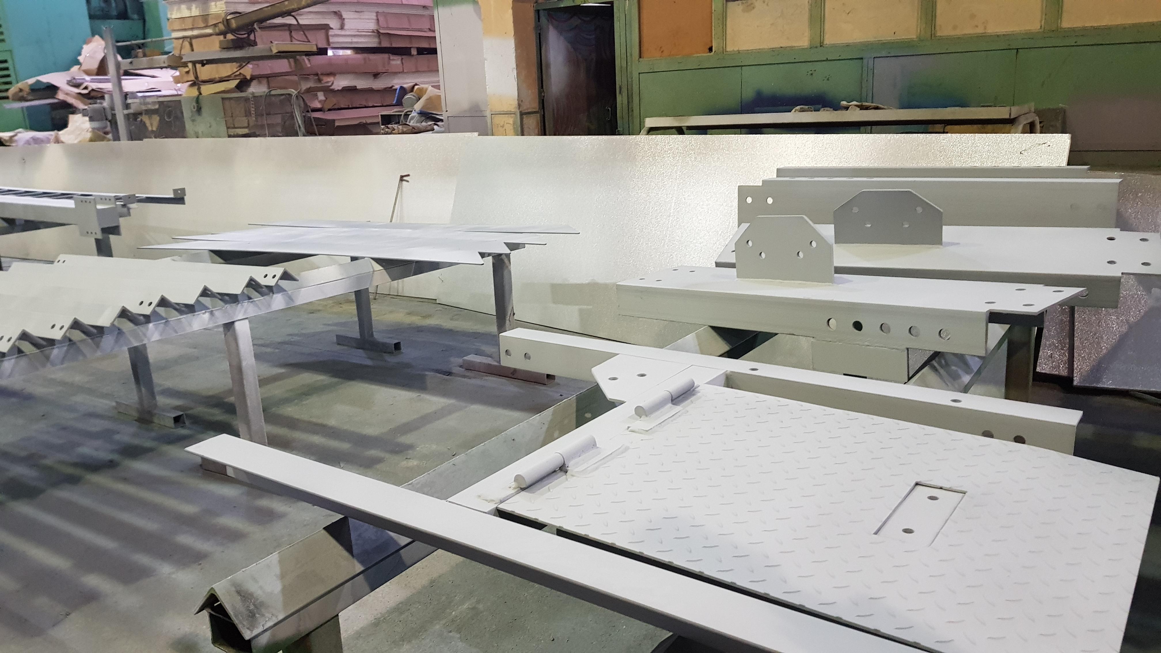 производственными отделениями Новинского завода металлоконструкций были изготовлены сварные двутавровые балки стандартные ГОСТ 26020-83