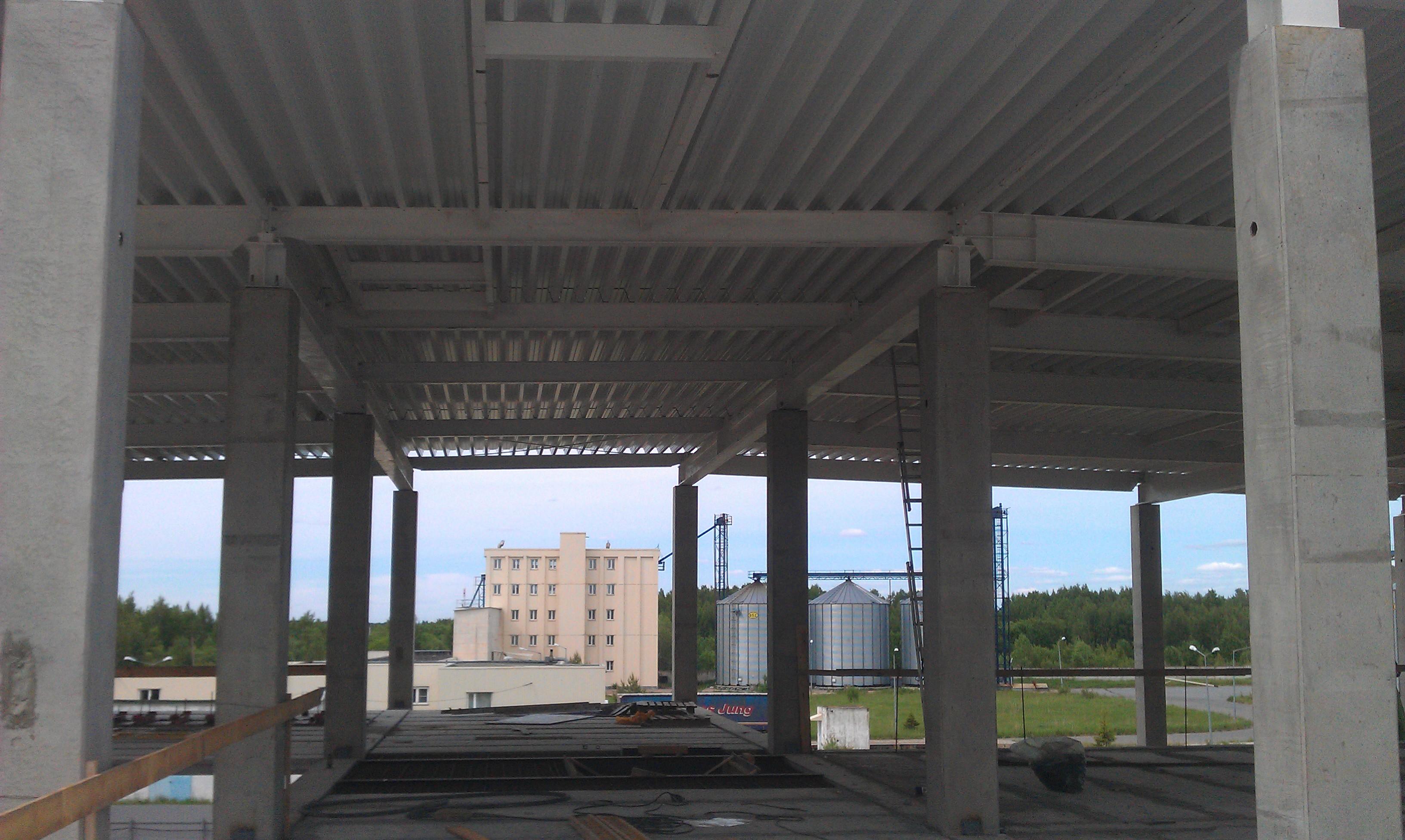 Завершены поставки металлоконструкций для строительства складского терминала в городе Жуковский