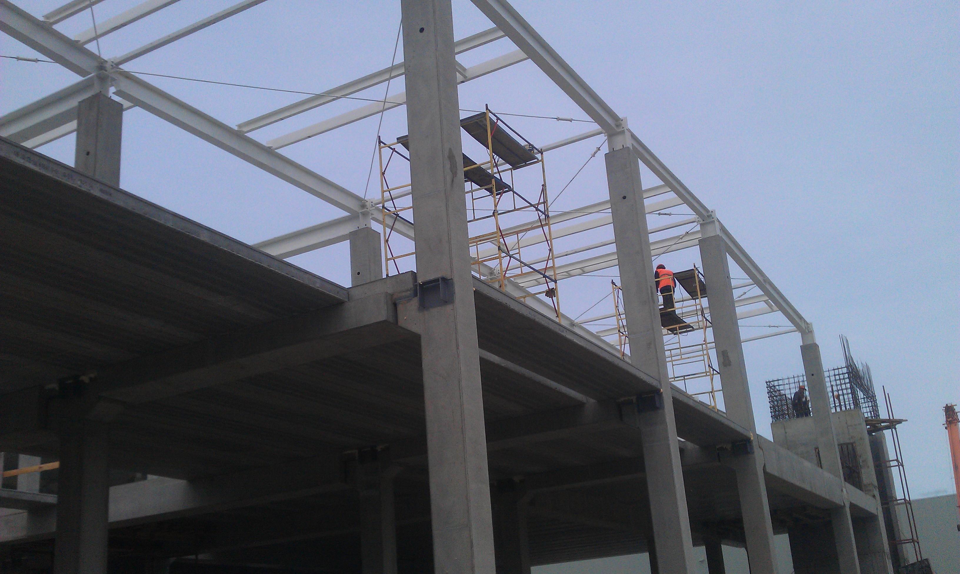 НВЗМК произвел и отгрузил продукцию для строительства металлоконструкции склада  в Петрозаводске
