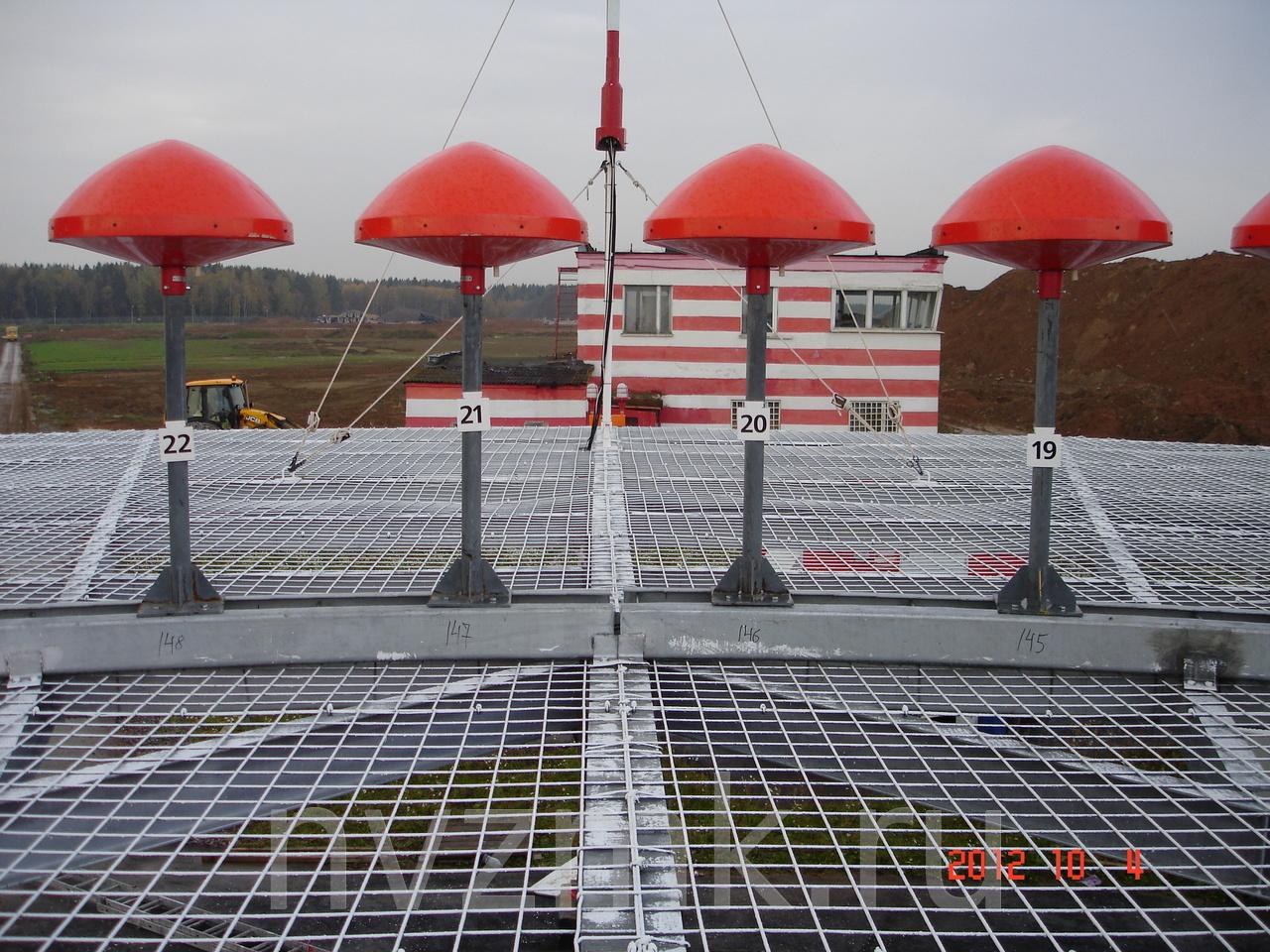 Металлоконструкции радиомаяка DVOR доплеровского азимутального и дальномерного
