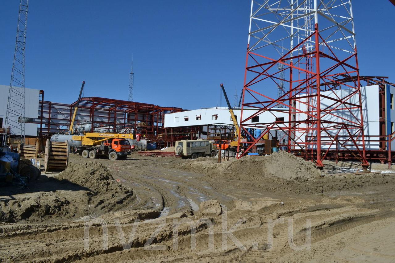 Производство и монтаж производственного корпуса нефтеперерабатывающего завода