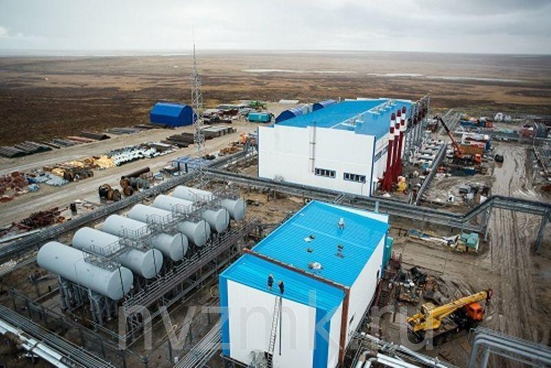 Комплектация и обустройство Северо-Уренгойского газового месторождения