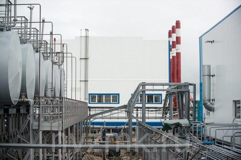 Были изготовлены и поставлены металлические трубы для отвода газов