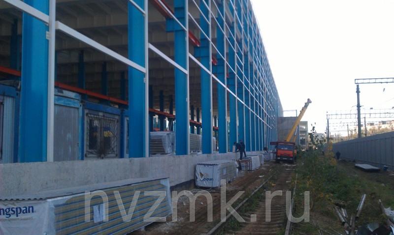 Строительство металлоконструкций Люберецкого Завода Монтажавтоматика
