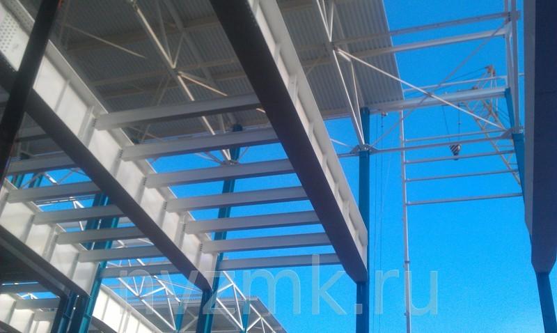 Производство и монтаж металлоконструкций механосборочного цеха