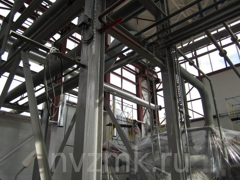 Выполнен монтаж металлоконструкций котельной в Одинцовском районе Московской области
