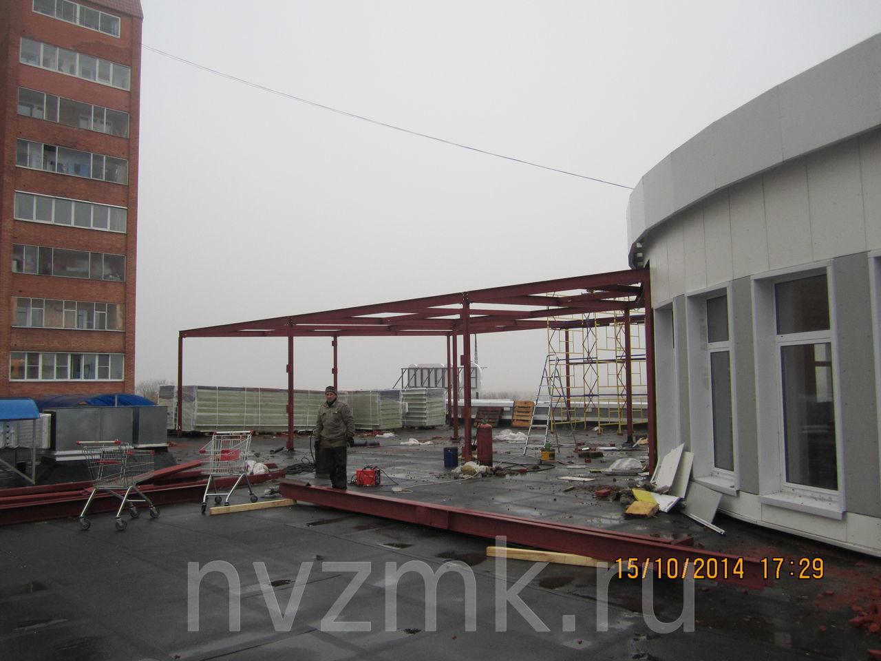 Здание ресторана из металлоконструкций изготовление и монтаж Сергиев-Посад