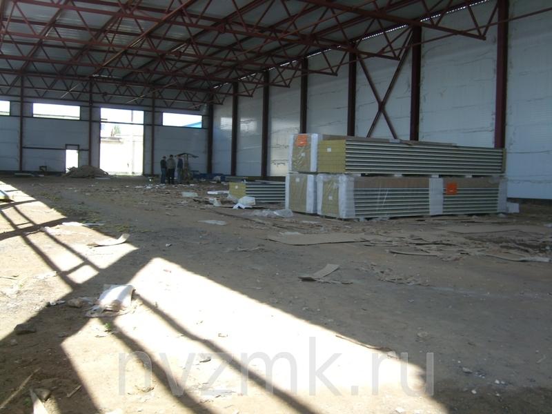 возведен цех для производства металлоконструкций в Республике Мордовии