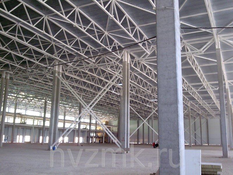 производство каркаса здания гипермаркета
