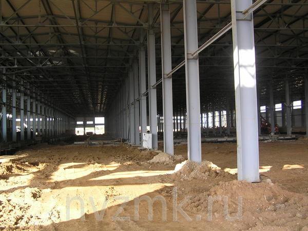 Выполнен монтаж и изготовление металлоконструкций здания ДЭЗ для заказчика из города Самара.