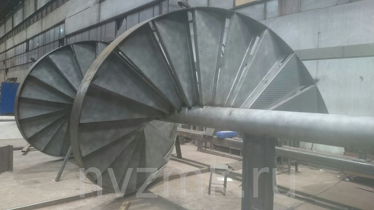 Изготовление металлических лестниц различных конфигураций